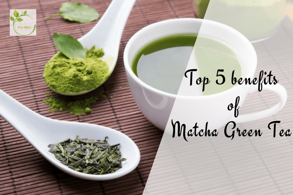 Top 5 benefits of Matcha Green Tea-min