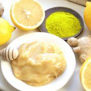Mặt nạ kem gạo tinh bột nghệ mật ong