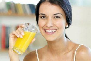 Uống tinh bột nghệ giảm cân